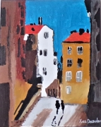 painting paysages : Nice