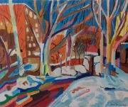tableau paysages : l'hiver