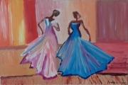 """tableau personnages personnages femmes danse : """" belles danseuses """""""