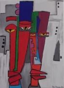 "tableau personnages personnage abstrait : "" poker face """