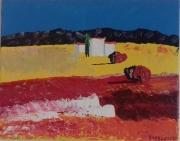 """tableau paysages sud soleil : """" L'été """""""