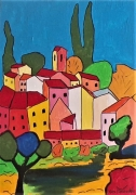 painting paysages : Luberon