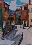 painting paysages : Rue San bito