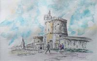 Panoramique sur la Rochelle