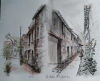 Ruelles de la grande rue de la ville du bois91