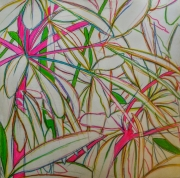 dessin multiple coulours pinnk energie : Flower power multicoloured