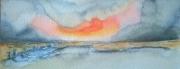 tableau paysages plagemerciel oostendebruggedamm hommagepermeke soleil : OSTENDE-OOSTENDE BRUGGES DAMME 04