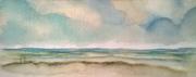 tableau marine plagemerciel oostendebruggedamm hommagepermeke coucher de soleil : OSTENDE-OOSTENDE BRUGGES DAMME 14
