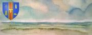 mixte fondationmtvankerkmt blason armoiries ecu plage sable ciel mer saintes maries de la : SAINTES MARIES DE LA MER 13 WIKIPEDIA BOUCHES DU RHONE