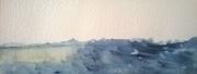 tableau marine plagemerciel vlesingen aquarelle orage sur la mer du : VLESINGEN LES MINI-AQUARELLES 03