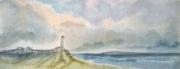 tableau paysages plagemerciel vlesingen phare moulin ,a vent : VLESINGEN LES MINI-AQUARELLES 01