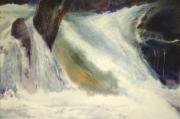 tableau cascade riviere magie realisme : Surcharge