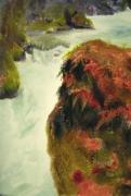 tableau paysages cascade foret magie realisme : Bonsai Jungle