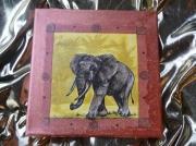 deco design animaux animaux afrique elephant cuivre : ELEPHANT D'INDE