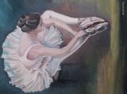 tableau opera etoile ballet : danseuse