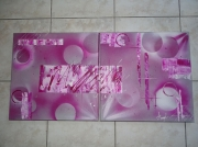tableau : lumious pink