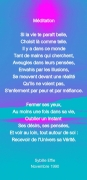 autres autres poesie : Méditation