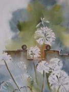 tableau fleurs fleurs sechees complementaires dynamisme impressionnsime : FLEURS SECHEES...