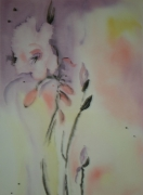 tableau fleurs fleur romantisme rose poesie : TENDRESSE...