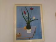 tableau fleurs peinture bbouquet de fleurs : bouquet de fleurs