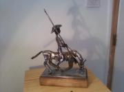 sculpture personnages sculpture la camarguaise : la camarguaise