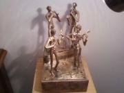sculpture personnages : les 4 gitans
