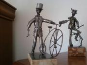 sculpture personnages sculpture la belle epoque : la belle epoque