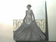 tableau personnages torero : toréro Nimes