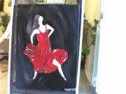 tableau personnages la gitane dance camargue : La Gitane