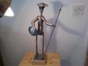 sculpture personnages sculpture donquichotte : donquichotte