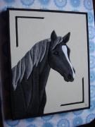 artisanat dart animaux tableaux artisanat animaux papillon fleurs : tête de cheval