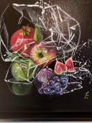 tableau fruits : Pris au piège