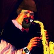 art numerique personnages pop art musique : En avant la musique!