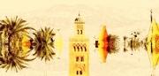 art numerique villes marrakech : Marrakech Abstrait