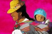 art numerique personnages maman enfant : Les mamans