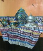 tableau nature morte nature morte tradition maroc art : Still life