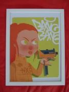 art numerique personnages girl mac10 bang bang : GIRLZ NXR BANG BANG