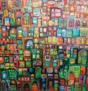 tableau villes ville : FENÊTRES D'AILLEURS 2