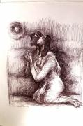 dessin personnages amour priere stylo bille : PRIÈRE D'AMOUR