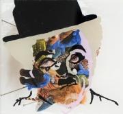 autres personnages charlot celebrites collage streetart : Charlot en peluche