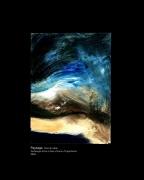 tableau paysages mont st michel vent baie mer : Vent de sable