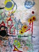 dessin paysages amour printemps sabri frederique : Amour de printemps. Dédiée à Sabri M'tir