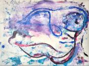 tableau personnages : L.amour oceanique
