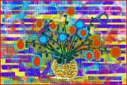 art numerique fleurs : 8