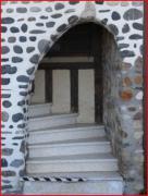 photo villes escalier : escalier blanc et noir