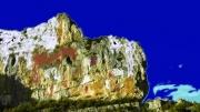 photo : roc peint