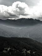 art numerique paysages montagne col : col