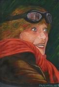 tableau personnages aviateur baron rouge vaea tahiti : La baronne rouge