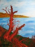 tableau : arbres morts