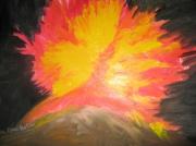 tableau : volcan